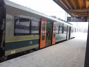Norwegian Railway can fraud your pocket if you enter the wrong wagon!