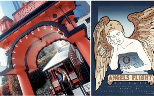 Shortest Railway Line named Angels Flight opened again in California, USA!