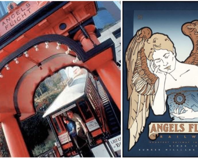 Shortest Railway Line named Angels Flight opened again