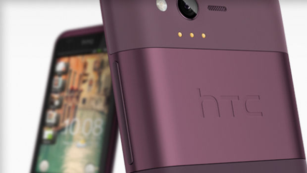 HTC Rhyme is a Totally New purple designed phone