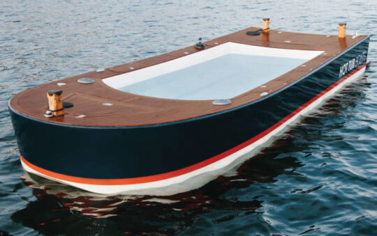 Check out this Luxury boat