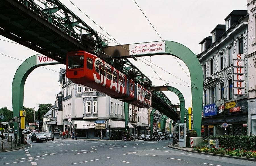 Wuppertal train journey