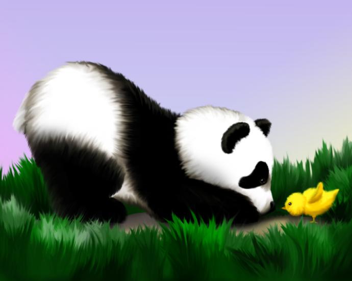 Panda Easter