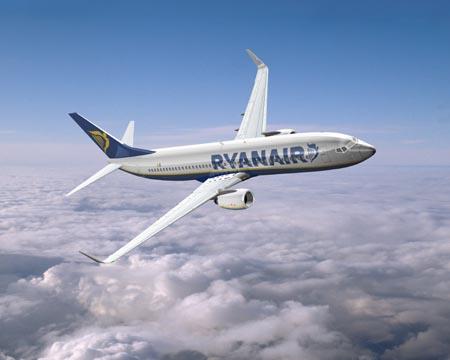 Ryanair new airplanes
