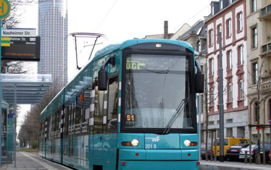 Less collisions with a new type of Tram by Bombardier Transportation