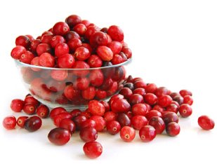 If you want an antioxidant boost, then go for cranberries