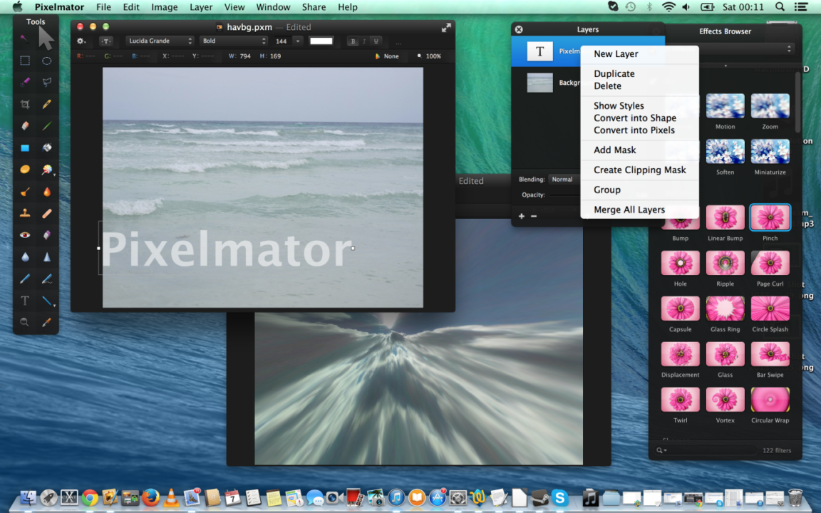 Review: Pixelmator for OSX. A great Adobe Photoshop competitor!