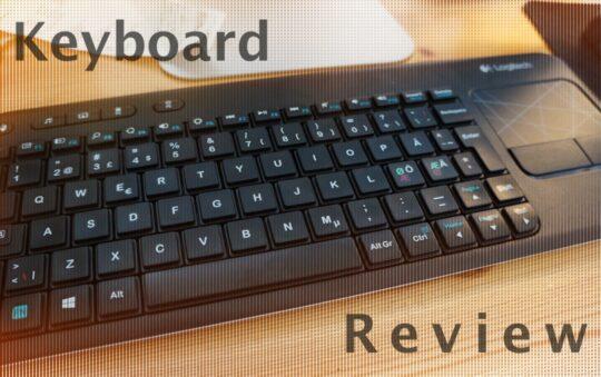 Review of a nice Logitech k400 Wireless Touch Keyboard