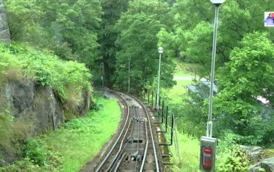 Skansen Rack Railway Revealed on Distrita TV