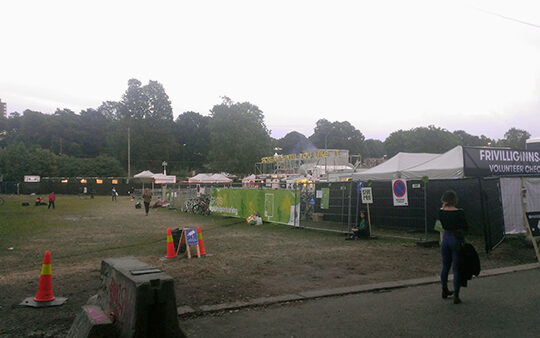 Music festival in Oslo makes angry neighbours!