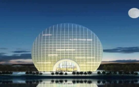 The new luxury hotel in China with modern designs