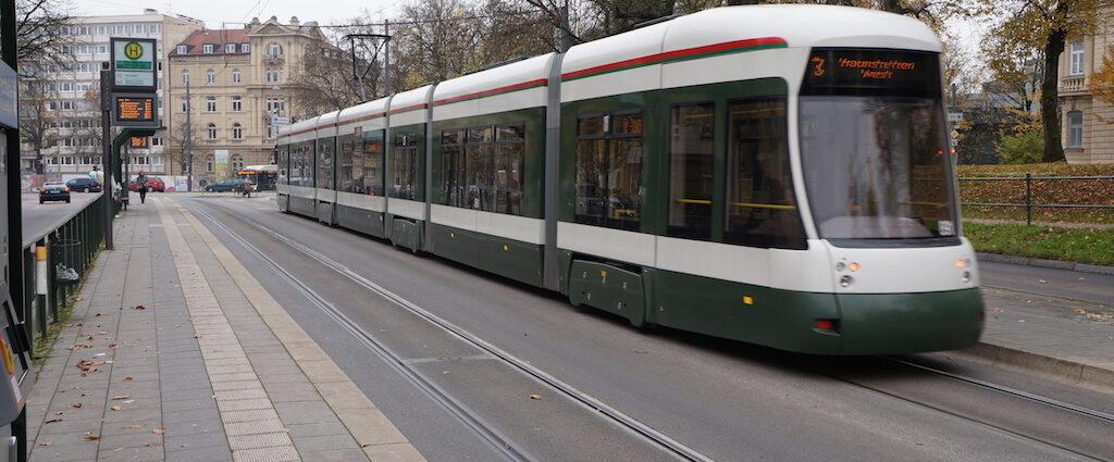 Augsburg Longest Tram Seen By Distrita