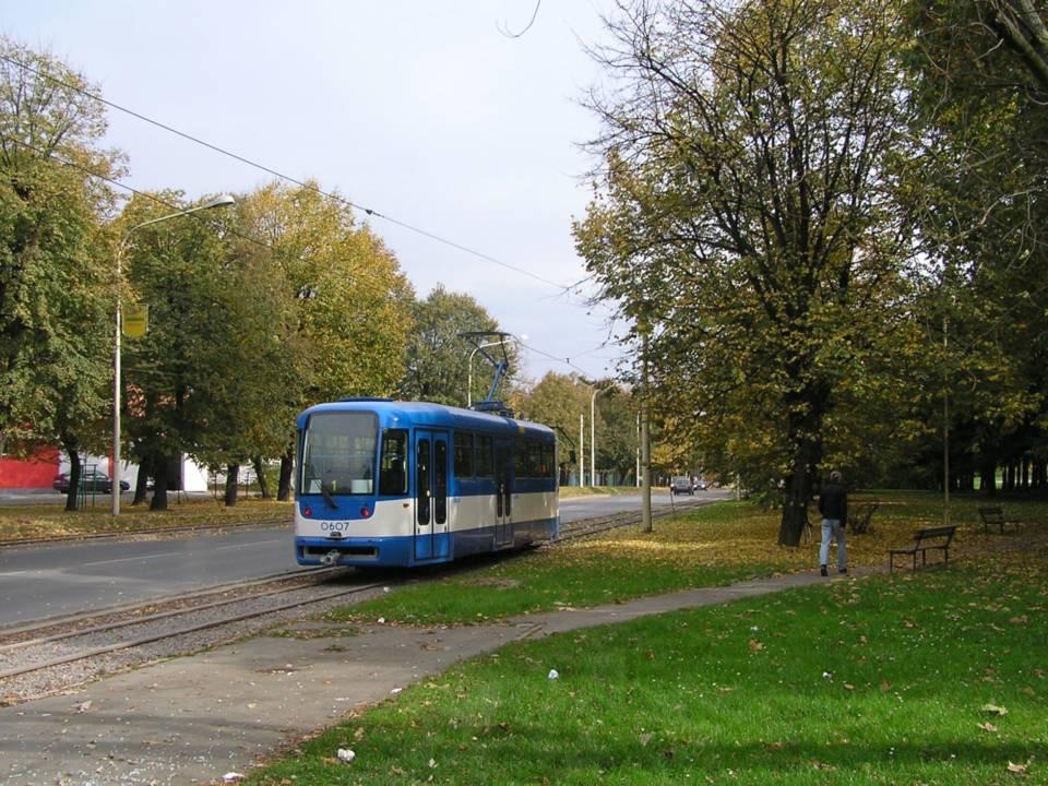 Osijek's metre-gauge tram Route 1 Expanded