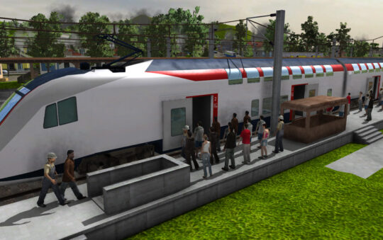 Train Fever Update with better simulation and better usability!