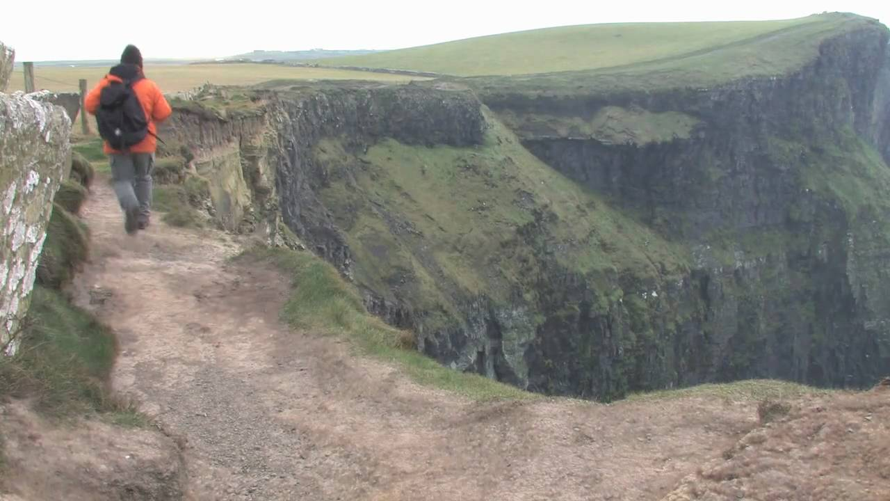 Visit the amazing Cliffs of Moher