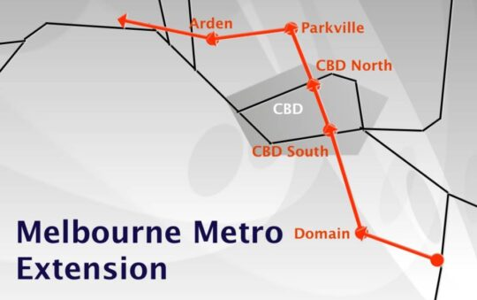 Melbourne Metro to give cross-city link by 2026