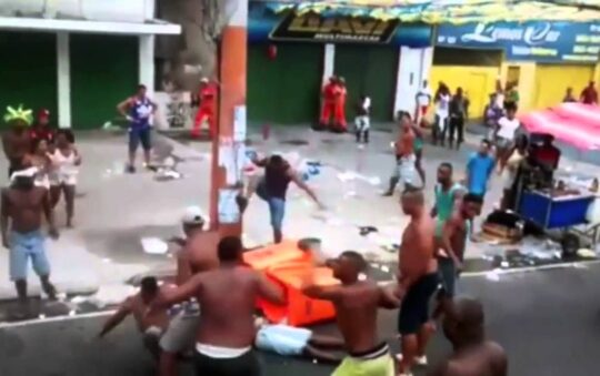 Are streets safe in Brazil?