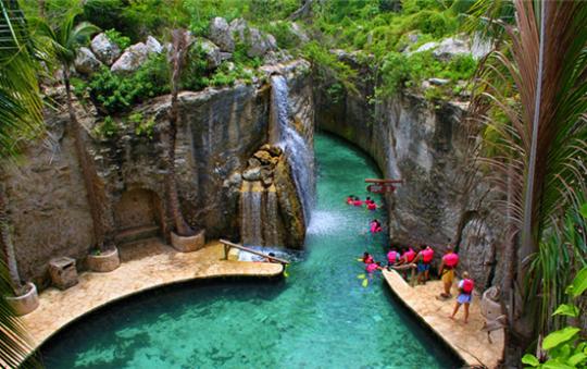 Xcaret park in Riviera Maya Mexico
