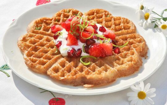 Norwegian Quick Waffle Recipe at the official Waffel Day in Europe Revealed