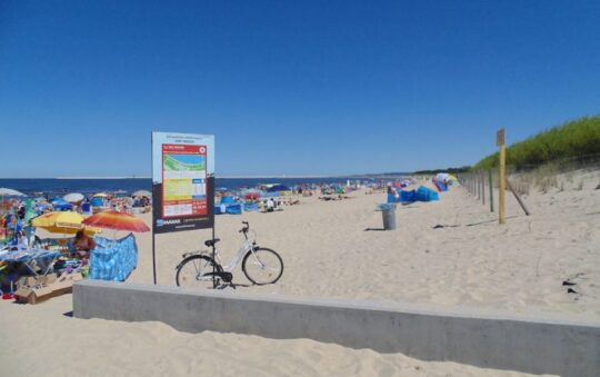 Amazing Beach in Poland