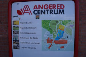Angered Centrum Plakat