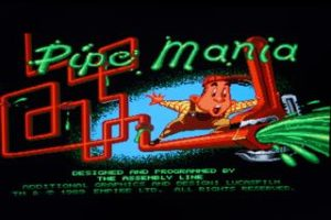 Pipe Mania Opening Screen