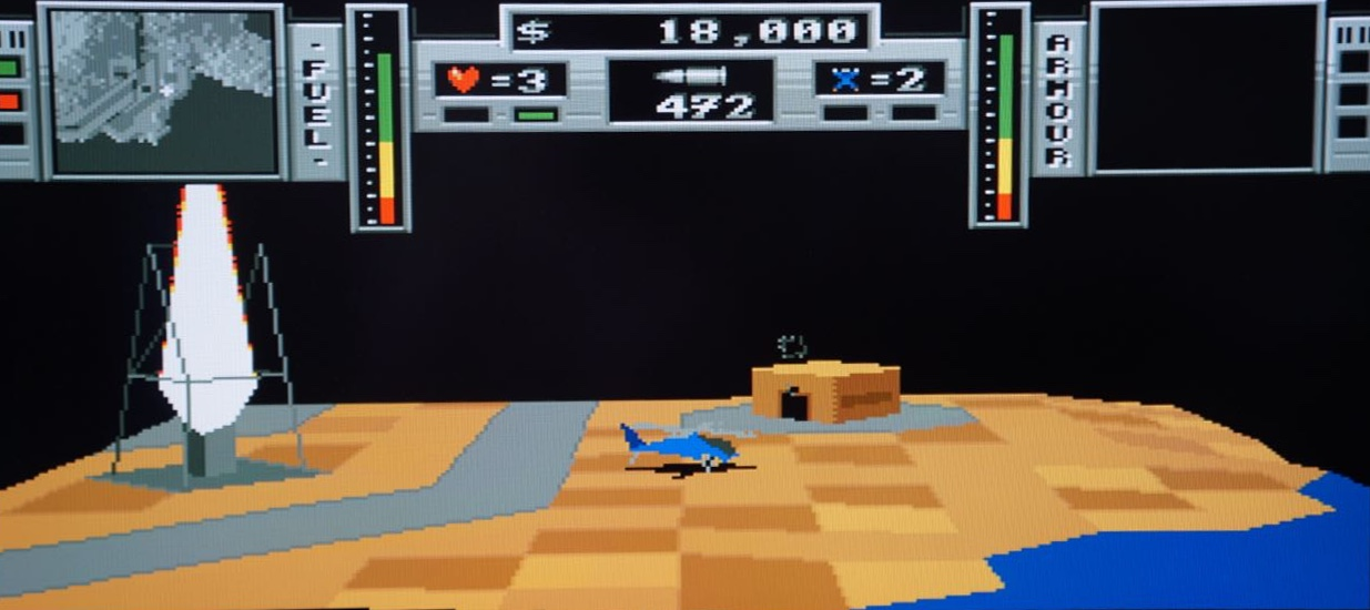 Review of the Amazing Zeewolf 2 Wild Justice Shooter for Classic Amiga