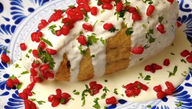 Chiles en nogada Recipe from Mexico
