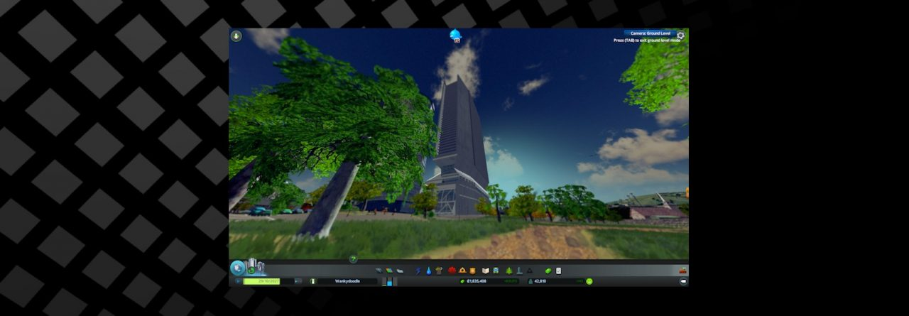 First-Person view in Cities Skylines