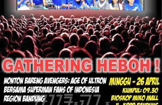 Distrita sponsors Superman Event in Bandung, Indonesia