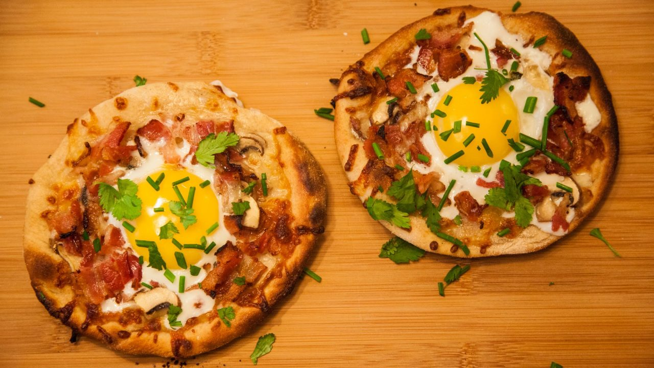 Eat Pizza for Breakfast is one of the best Food Website ideas