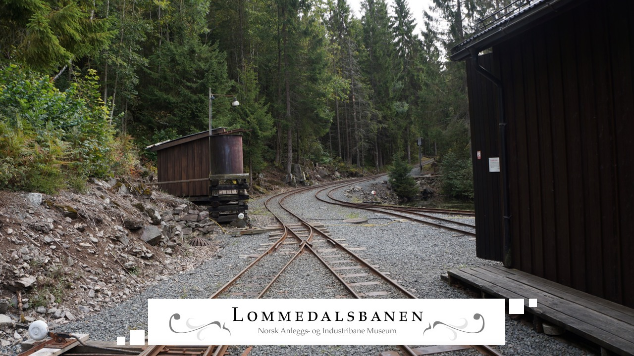 Lommedalsbanen Train Tracks