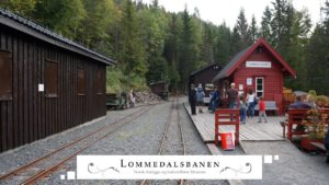 Lommedalsbanen Station House