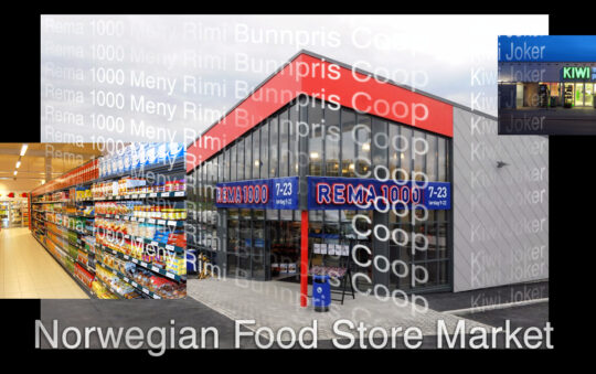 Only 1000 different products to Buy in most of the Norwegian grocery stores