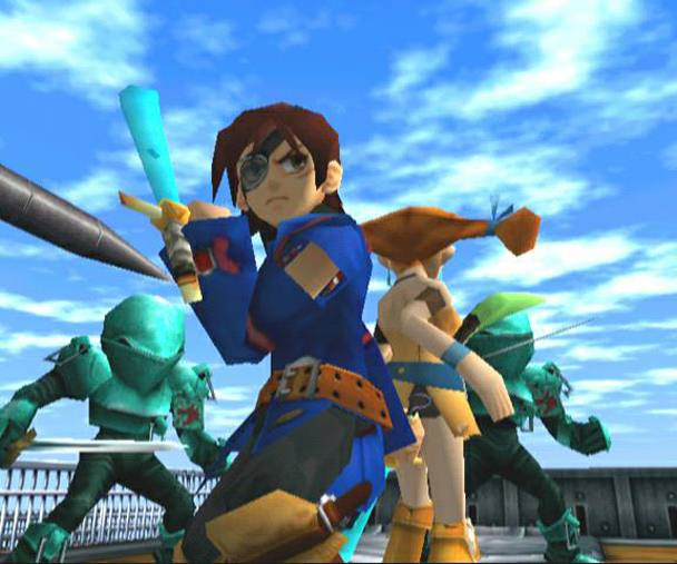 Worlds Best RPG Game is Skies of Arcadia