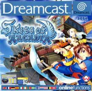 Skies of Arcardia for Dreamcast