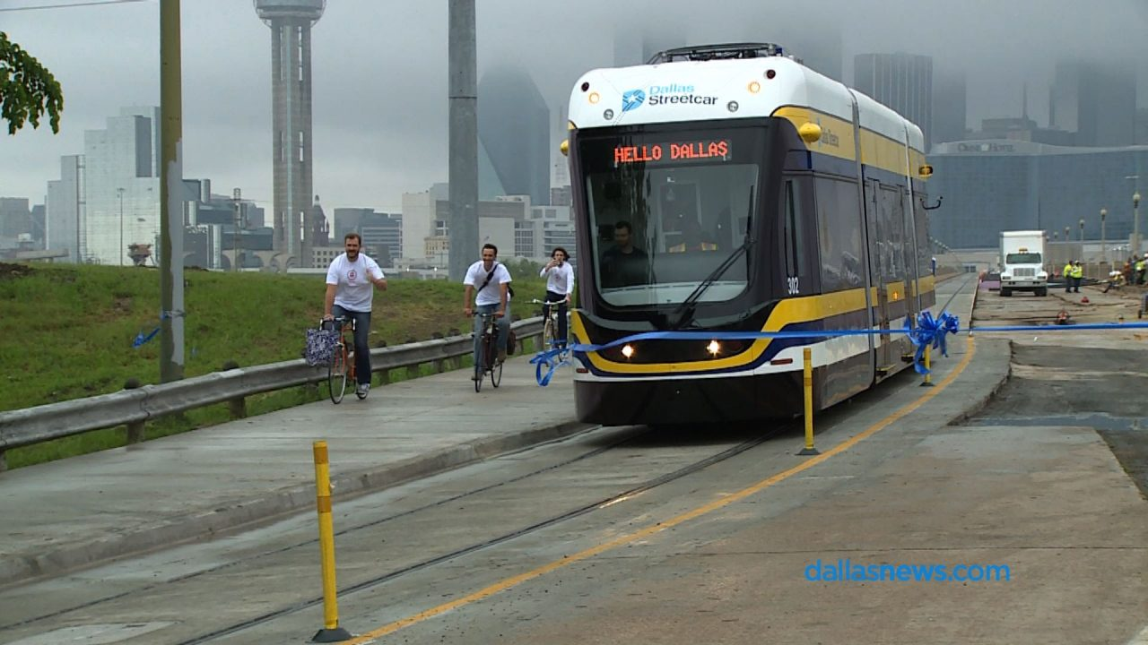 Trams are Back in Dallas after 59 Years