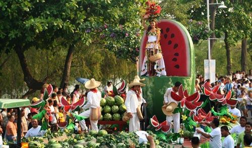 Water Melon at the Parade