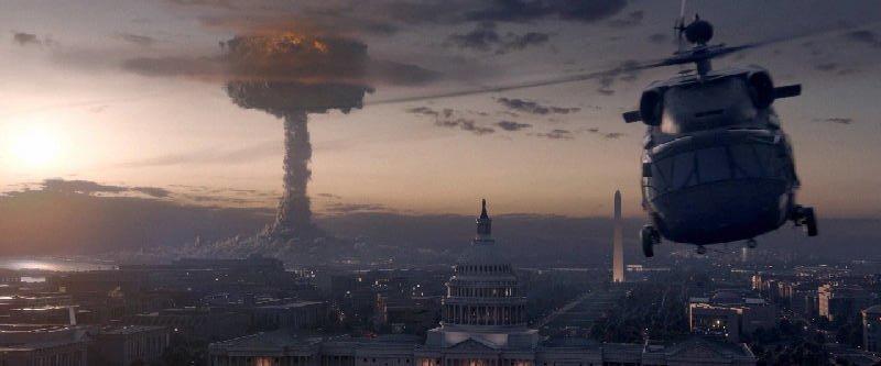 Nuclear bombing in Washington DC - Iron Sky 2
