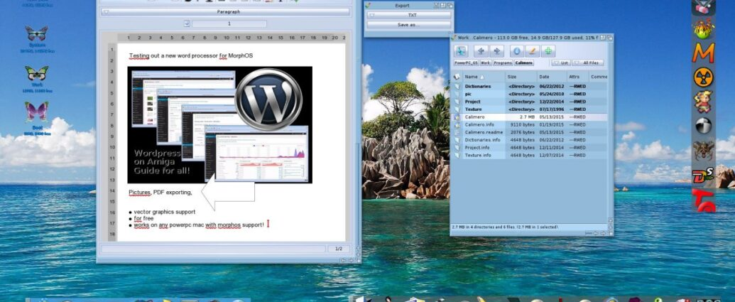Calimero 3.82 is out for MorphOS