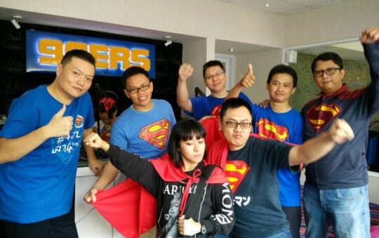 Superman Club Event-Review in Bandung, Indonesia on 26th of April