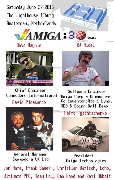 Amsterdam Amiga 30 Years