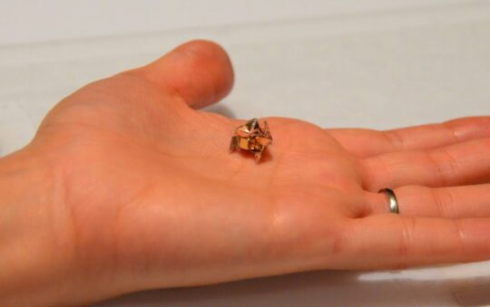 Miniature Origami Robot dance