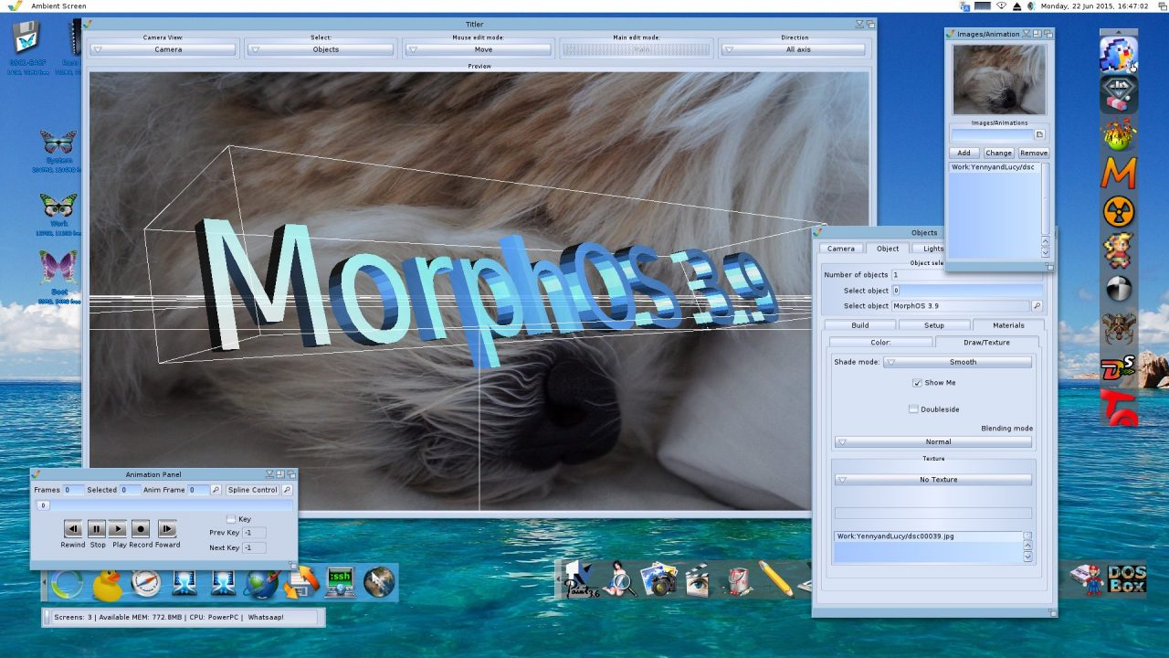 MorphOS 3.9 is out with some Important Bug Fixes