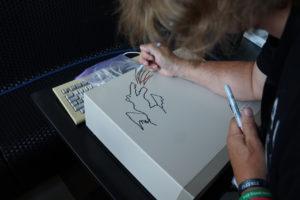 Dragon sign by Dave Haynie