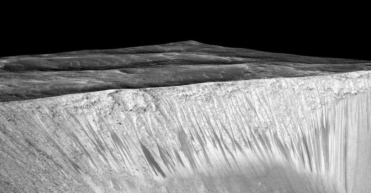 Liquid Water Flows on Mars