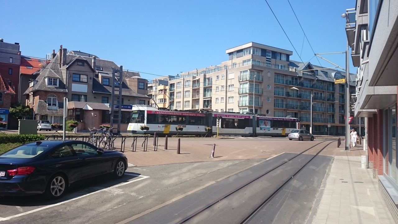 Tram section