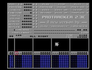 Protracker 2.3E Amiga