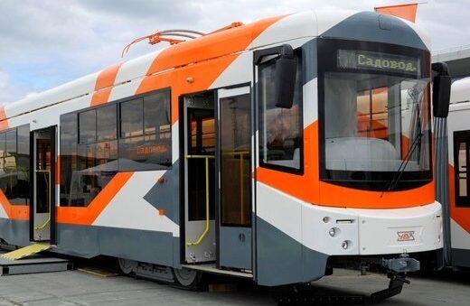 Vladikavkaz in Russia gets new trams