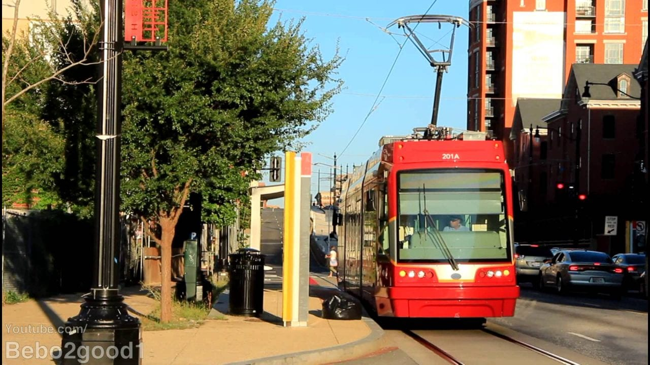 Trams are back in Washington DC streets in USA
